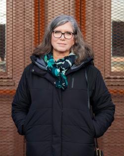 Porträtt av Anette Arveståhl
