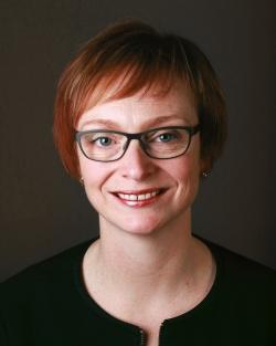 Porträtt av Kristina Hallman
