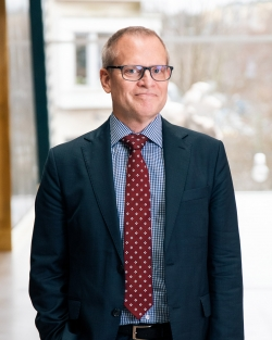 Porträtt på Ulf Hammarström